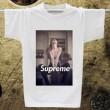 注目のアイテム 2015春夏 SUPREME シュプリーム ファション 男女兼用 半袖Tシャツ