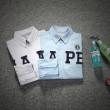 高級感を引き立てる 2016春夏 a bathing APE ベイシングエイプ メンズ 長袖シャツ 2色可選