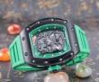 売れ筋! 2016 RICHARD MILLE リシャールミル 透かし彫りムーブメント 男性用腕時計