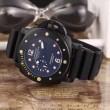 超人気美品◆ 2016 PANERAI パネライ 3針クロノグラフ 日付表示 腕時計 2色可選