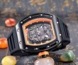 最旬アイテム 2016 RICHARD MILLE リシャールミル 透かし彫りムーブメント 男性用腕時計