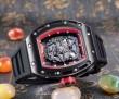 美品!2016 RICHARD MILLE リシャールミル 透かし彫りムーブメント 男性用腕時計