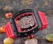 抜群の雰囲気が作れる! 2016 RICHARD MILLE リシャールミル 透かし彫りムーブメント 男性用腕時計
