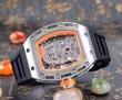 値下げ! 2016 RICHARD MILLE リシャールミル 透かし彫りムーブメント 男性用腕時計