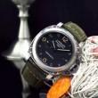 最旬アイテム 2016 PANERAI パネライ 3針クロノグラフ 日付表示 腕時計