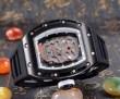格安!2016 RICHARD MILLE リシャールミル 透かし彫りムーブメント 男性用腕時計