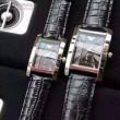人気商品  2016 ARMANI アルマーニ レザー 恋人腕時計 2色可選