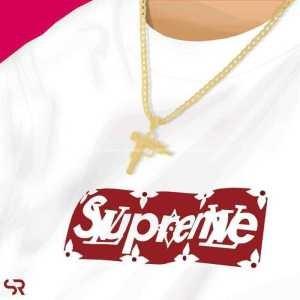 スタイリッシュな印象  Supreme Monogram box logo bogo Tee 17春夏   シュプリーム SUPREME  2色可選  半袖Tシャツ