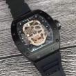 上級男性用腕時計 リシャールミル RICHARD MILLE 激安大特価格安 透かし彫りムーブメント 2017春夏