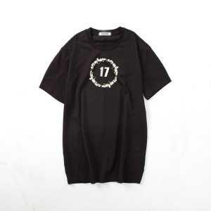 GIVENCHY ジバンシー 男女兼用 上品な輝きを放つ形 半袖Tシャツ シンプル 17SS