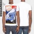 2017 DSQUARED2 ディースクエアード 半袖Tシャツ 4色可選 存在感のある カジュアル