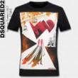 魅力的 DSQUARED2 ディースクエアード 2017春夏 4色可選 半袖Tシャツ 乾きやすい