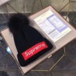 SUPREME小顔効果大  2色可選 超激得100%新品 シュプリーム2017秋冬季超人気 ニット帽