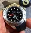 大人気 ROLEX ロレックス エクスプローラーII 16570 自動巻き 男性用腕時計 4針 日付表示 ブラック高級感溢れるデザイン 最新作