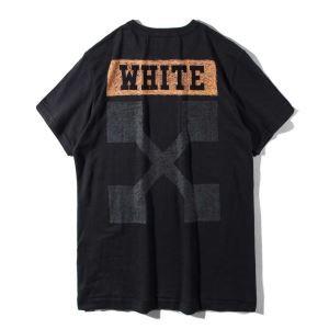 大人キレイに仕立てる オフホワイト OFF-WHITE 2017秋冬季超人気 2色可選半袖