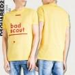 春夏品質保証低価DSQUARED2ディースクエアード tシャツbad scout文字プリントカジュアル半袖メンズ3色可選
