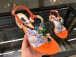 ドルチェ&ガッバーナ人気Dolce&Gabbanaサンダル プリントパテントレザー エンブロイダリーレディース夏靴CQ0115AS165HW681シューズ