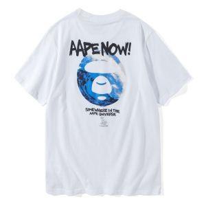 しわになりにくい2018新作登場 半袖Tシャツ ア ベイシング エイプ A BATHING APE 2色可選 薄手