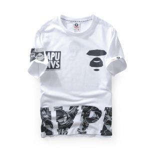 半袖Tシャツ ファッションに役立つ 2色可選2018新作登場 半袖Tシャツ ア ベイシング エイプ A BATHING APE
