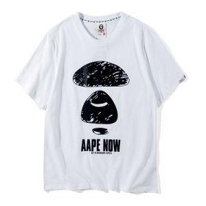 着回し度抜群2色可選  ア ベイシング エイプ A BATHING APE2018夏のトレンド 半袖Tシャツ