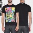 目が離せないアイテム Tシャツ\\半袖2色可選 2018年トレンド DSQUARED2 ディースクエアード