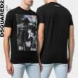 おしゃれ感で魅せる!DSQUARED2 ディースクエアード Tシャツ\\半袖 2色可選2018夏のトレンド