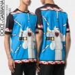 Tシャツ\\半袖2018夏のトレンド おしゃれな美品 Dolce&Gabbana ドルチェ&ガッバーナ