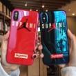 目が離せないアイテム シュプリーム SUPREME 2018夏のトレンド iphone7 plus ケース カバー 2色可選