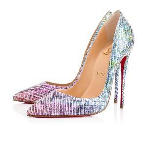 2018爆買い大得価Christian Louboutinクリスチャンルブタン 靴 コピーポインテッドトゥパンプスハイヒール