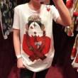 品質保証定番Dolce&Gabbanaドルガバ tシャツ コピープリントカジュアルレディースホワイト白半袖トップス