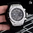 2018数量限定豊富なHUBLOTウブロ 時計 コピービッグバン3針クロノグラフビジネスカジュアル腕時計2色可選