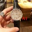 限定セール  男女兼用腕時計 サファイヤクリスタル風防 牛革布地ベルト  2色可選 PIAGET ピアジェ