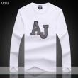 2018年秋冬絶対手に入れたい! 長袖Tシャツ 3色可選 トレンド感溢れる ARMANI アルマーニ