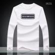 今年大流行 ARMANI アルマーニ  高級素材を採用 長袖Tシャツ 3色可選 秋冬超人気