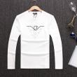 稀少*新品登場 3色可選 2018一番最高人気 絶対欲しい新作 ARMANI アルマーニ  長袖Tシャツ