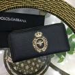 Dolce&Gabbanaドルチェ&ガッバーナ 財布 コピーレジャーかっこいいおしゃれブランド品ジップロングウォレット人気定番品質保証