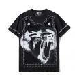 GIVENCHY上質な素材ジバンシー tシャツ コピー人気オーバーサイズメンズファッション半袖Tシャツブラック