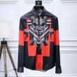 ジバンシー スーパー コピーGIVENCHYメンズ黒の綿のシャツハイセンスなファッションアイテム上質なコットン