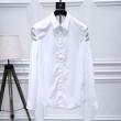 大人気のラグジュアリーブランドGIVENCHYジバンシー シャツ 偽物メンズホワイトシャツカジュアル長袖