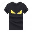 FENDIフェンディ tシャツ コピーFY0910A3LJF0QA1コットンジャージー製半袖クルーネックTシャツ