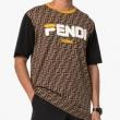 フェンディ tシャツ コピーFENDI限定コレクションFY0936A65HF0QT1マルチカラーカジュアル半袖ユニセックス