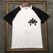爆発的な人気 2色可選CHROME HEARTS世の流行に左右されないデザイン 半袖Tシャツクロムハーツ