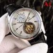 8色可選OMEGAオメガ 時計 偽物レザー製ストラップ素晴らしい男性用ウォッチ世界的に有名な腕時計