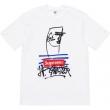 19春夏最新モデル アクティブシーンに心地よい Tシャツ/半袖 2色可選 Supreme × Jean Paul Gaultier Tee