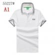 HUGO BOSS ヒューゴボス メンズ トップス 半袖 ポロシャツ 通販 コピー 四色可選 五分袖 ゆったり 夏の定番 ゴルフウェア