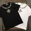 クロムハーツ CHROME HEARTS 半袖Tシャツ 2色可選 男女兼用 19春夏最新モデル 伸びるストレッチ素材