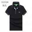トレンドに決まる限定品 ヒューゴボス メンズ Slim-fit polo shirt in stretch piqué with curved logo コピー 激安