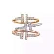 Tiffany & Co ティファニー リング ユニークで個性を光る限定品 レディース コピー ティファニー T 多色選択可 おしゃれ 激安