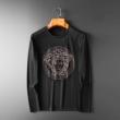 長袖Tシャツ 2色可選 ヴェルサーチ VERSACE 2019秋冬の新作 冬めきコーデを叶える