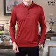 2019秋冬の新作 3色可選 ヒューゴボス HUGO BOSS 長袖Tシャツ 冬の落ち着いたファッションに取り